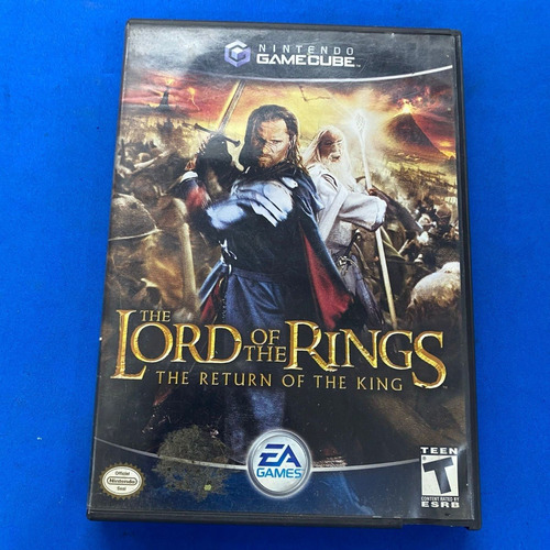 Imagen 1 de 3 de The Lord Of The Rings The Return Of The King Gamecube