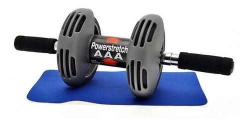Imagen 1 de 7 de Doble Rueda Abdominal De Ejercicio Power Strech Roller