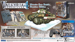 Valkyria Chronicles 4 Memoirs From Battle Edition Ps4