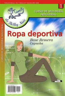 6 Fasciculos De Ropa Deportiva Dama Molderia Industrial