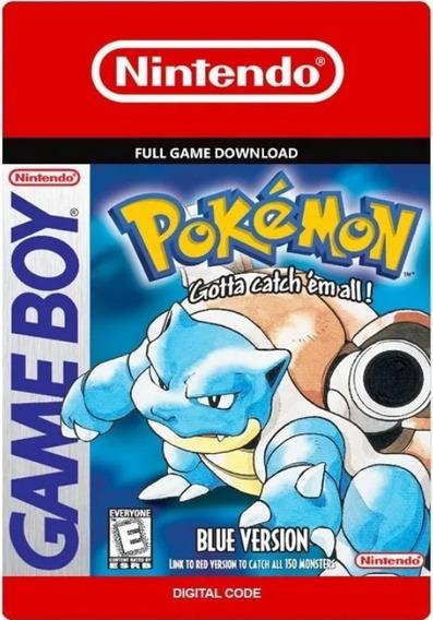 Pokémon Blue - Versão Nintendo 3ds Digital Eshop - Us Br