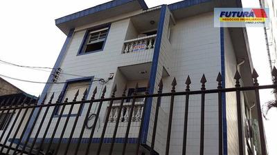 2 Dormitórios, Frente Com Sacada A Duas Quadras Da Praia. - Ap0945