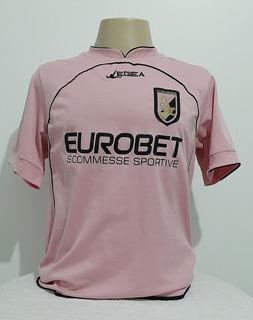 Camisa Palermo Da Itália Rosa #10 Micoli