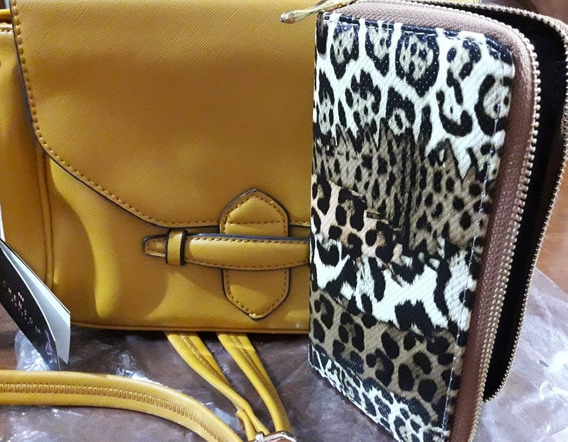 Cartera Chenson + Billetera!!!!!!
