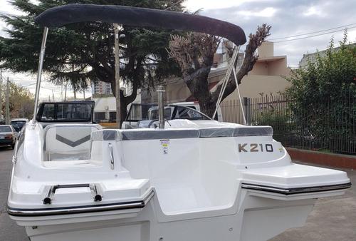 Imagen 1 de 14 de Lancha Open Klase A K210 Veni A Verla A Nautica Milione 12