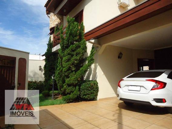 Casa À Venda, 231 M² Por R$ 720.000,00 - Parque Residencial Jaguari - Americana/sp - Ca2961