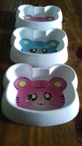 Comederos Y Bebederos Super Simpaticos Para Gatitos Felices