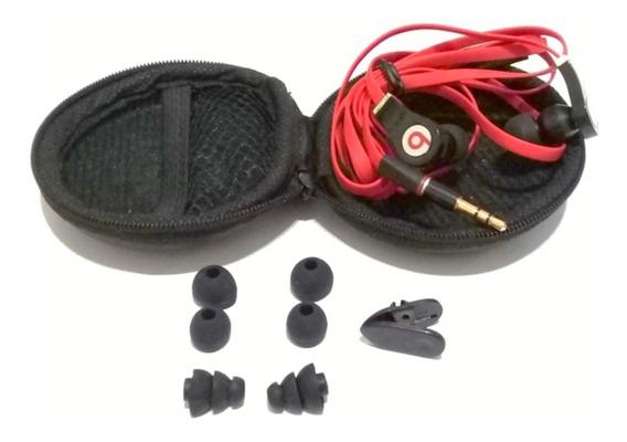 Fone De Ouvido Alta Qualidade + Estojo + 6 Esponjas + 1 Clip