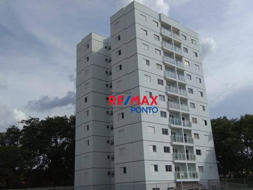 Apartamento Com 2 Dormitórios À Venda, 68 M² Por R$ 230.000,00 - Condominio Residencial Bella Vista - Mogi Mirim/sp - Ap0060