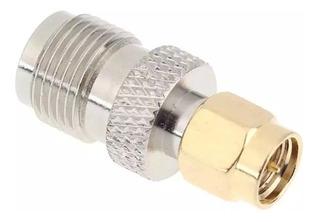 Plug Adaptador Tnc Fêmea Sma Macho Roteador 3g 4g Interface