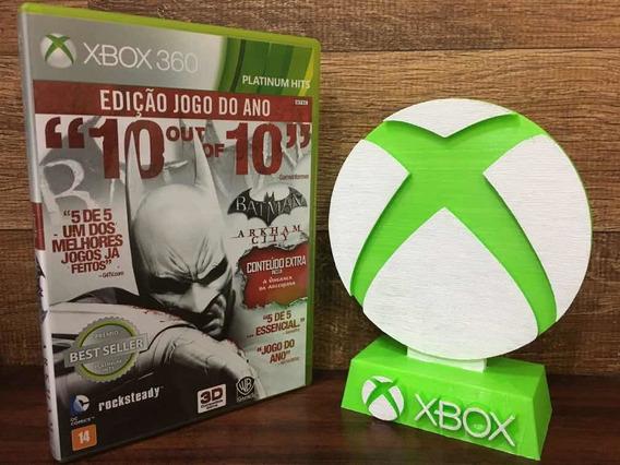 Batman Arkham City Xbox 360 Edição Jogo Do Ano P\ Entrega