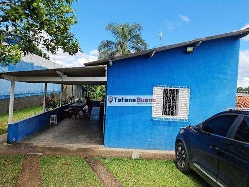 Chácara Com 2 Dormitórios À Venda, 3200 M² Por R$ 210.000 - Buquirinha Ii - São José Dos Campos/sp - Ch0072