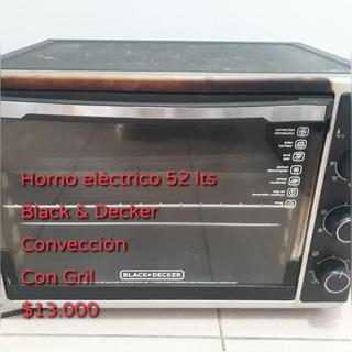 Horno Electrico Black & Decker 52 Lts