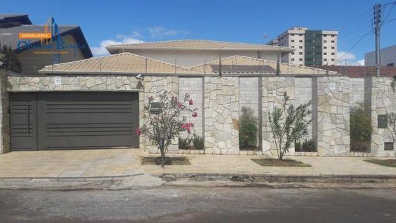 Casa Com 4 Dormitórios À Venda, 302 M² Por R$ 1.100.000 - Jardim Bandeirante - Anápolis/go - Ca1545