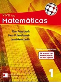 Vive Las Matematicas 1 2ed. -s.piada/basado Competencias-