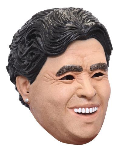 Imagen 1 de 1 de Máscara De Maradona Futbolista Diego Armando Maradona