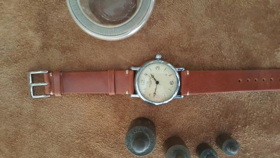 Pulseira Para Relógio Em Couro Marrom Claro 20 Mm