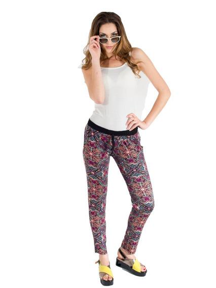 Babucha Pantalon Fibrana De Mujer Talle 1 A 6