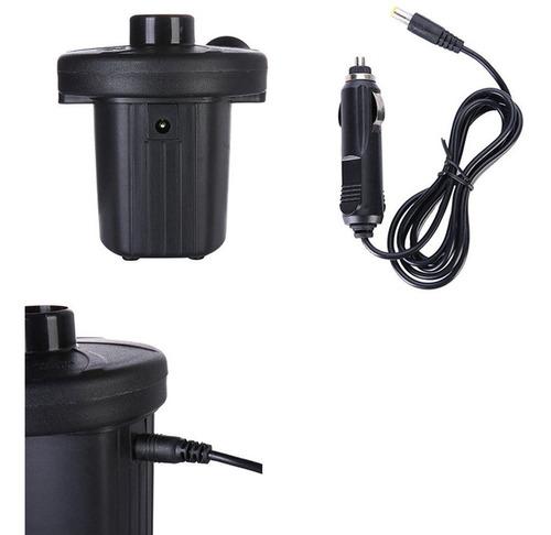 de Color Negro Bomba de Aire el/éctrica Inicio Inflar Desinflar para colch/ón de Aire Cama de Aire Bomba infladora el/éctrica Bomba Inflable peque/ña