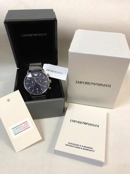 Relógio Emporio Armani Ar11105 C Caixa E Garantia Ea Novo