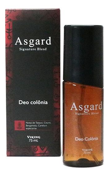 Deo Colônia Asgard - Notas Amadeiradas Barber Shop Viking