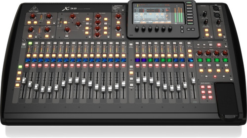 Behringer X32 Consola Digital Mixer 32 Canales En Cuotas