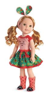 American Girl Wellie Wishers Willa Doll - Entrega Ya!