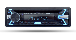 Daewoo Autoestereo Bluetooth Cd Usb Mp3 Dw-3249bt /e