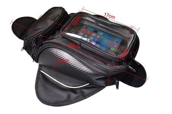 Bolso Para Tanque Moto Magnetico Touch Celu Gps Sp