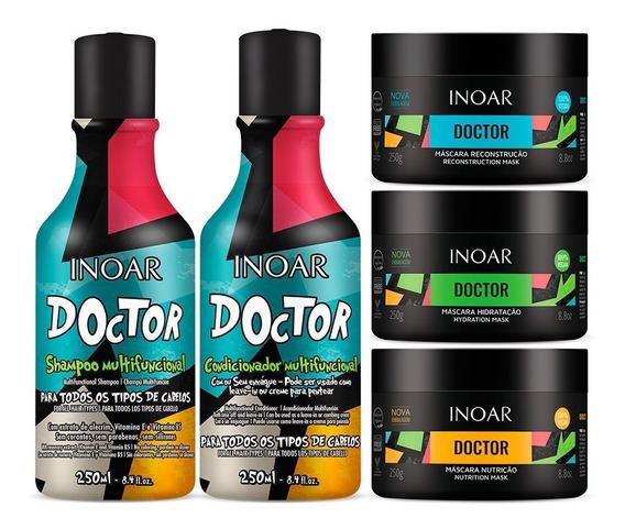 Kit Inoar Doctor Completo 5 Produtos Cronograma Completo