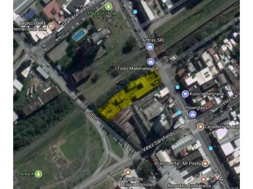 Imagen 1 de 4 de Excepcional Terreno En Avellaneda - 3000 M2 Aprox.