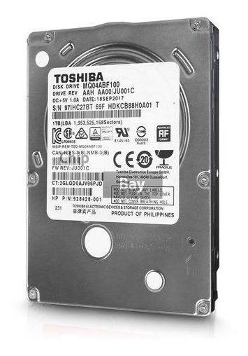 Hd Toshiba Sata 2.5´ P/ Notebook 1tb 5400rpm 8mb Cache Sata
