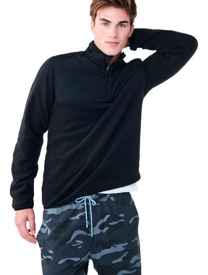Blusão Jaqueta Pro Fleece Quarter-zip Aéropostale