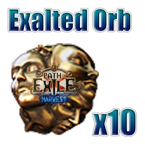 Exalted Orb - Path Of Exile - Poe Harvest Pc
