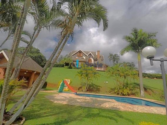 Chácara Com 4 Dormitórios Mobiliada À Venda, 6120 M² - Canto Das Águas - Igaratá/sp - Ch0045