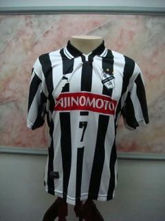 Camisa Futebol Internacional Limeira Puma Jogo Antiga 2579