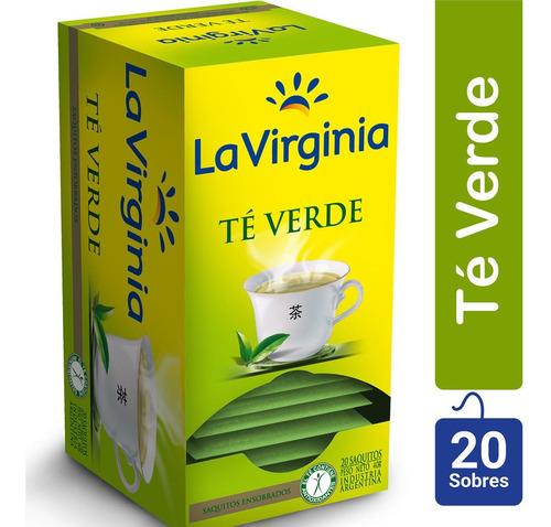 Te Verde En Saquitos La Virginia X20 Sobres