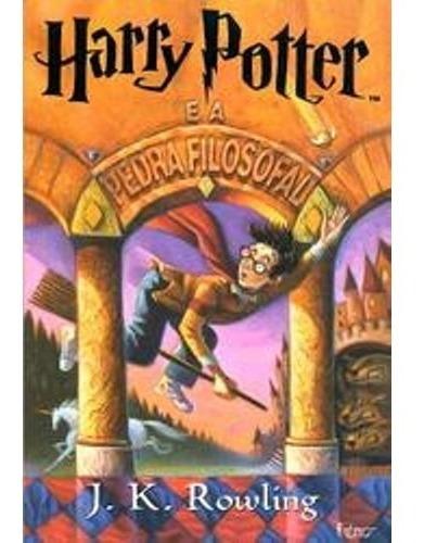 Livro Harry Potter E A Pedra Filosofal Rocco J K Rowling
