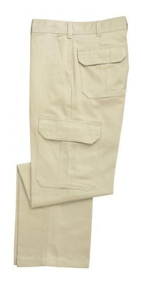 Pantalon Cargo Ombu Aire Libre Azul/verde/negro/caqui/gris