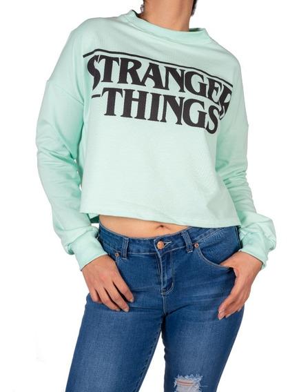 Sudadera Serie Stranger Things De Dama Tallas Ch, M, G, Xl.
