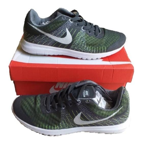 Zapatos Deportivos Nike Flyknit Flex Caballeros Y Damas
