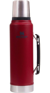 Termo Stanley Clásico 1 Litro Rojo Modelo 2020