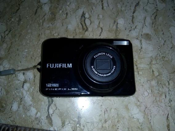 Camera Fotográfica Fujifilm 12 Mega Pixels Finepix L55