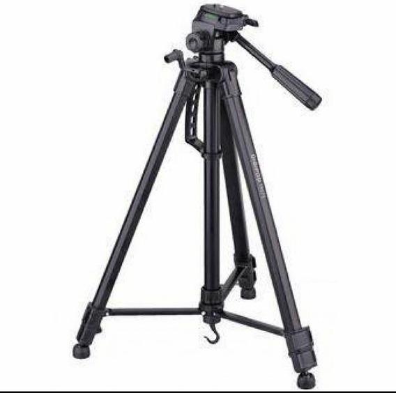 Tripe De Aluminio Preto Para Camera 1.80m - Sl-3600