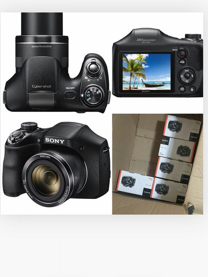 Câmera Sony Dsc H300lcd 3.0 20.1mp Zoom Óptico 35x Full Hd