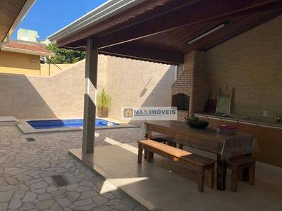 Casa Residencial À Venda, Jardim Tapajós, Atibaia. - Ca0226