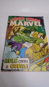 Super-heróis Marvel Nº 2 - Agost/79 Editora Rge