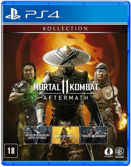 Mortal Kombat 11 Aftermath Kollection Ps4 Midia Fisica