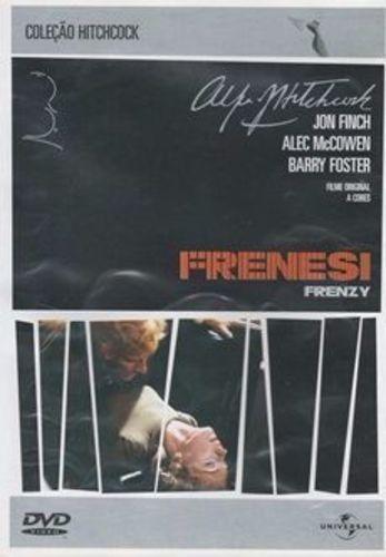 Dvd Filme - Alfred Hitchcock - Frenesi
