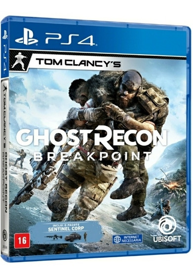 Ghost Recon: Breakpoint + Dlc - Ps4 - Mídia Física